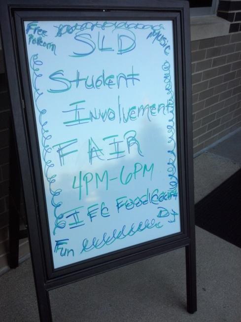 Involvement Fair Today