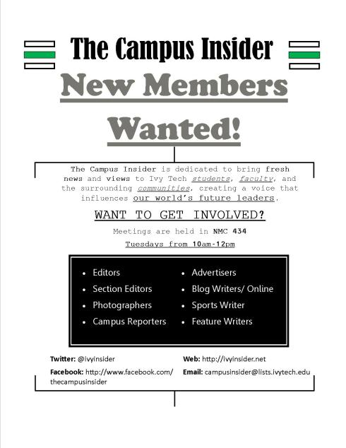 New Members Wanted