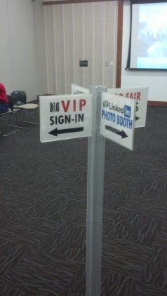Community Room, containing the VIP Sign-In, Resume Review