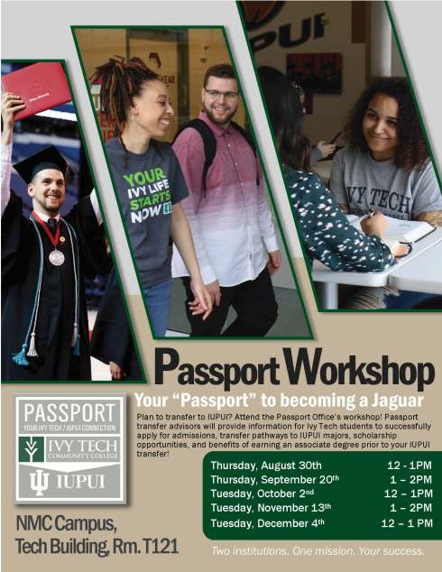 Passport Workshops Flyer Fall 2018